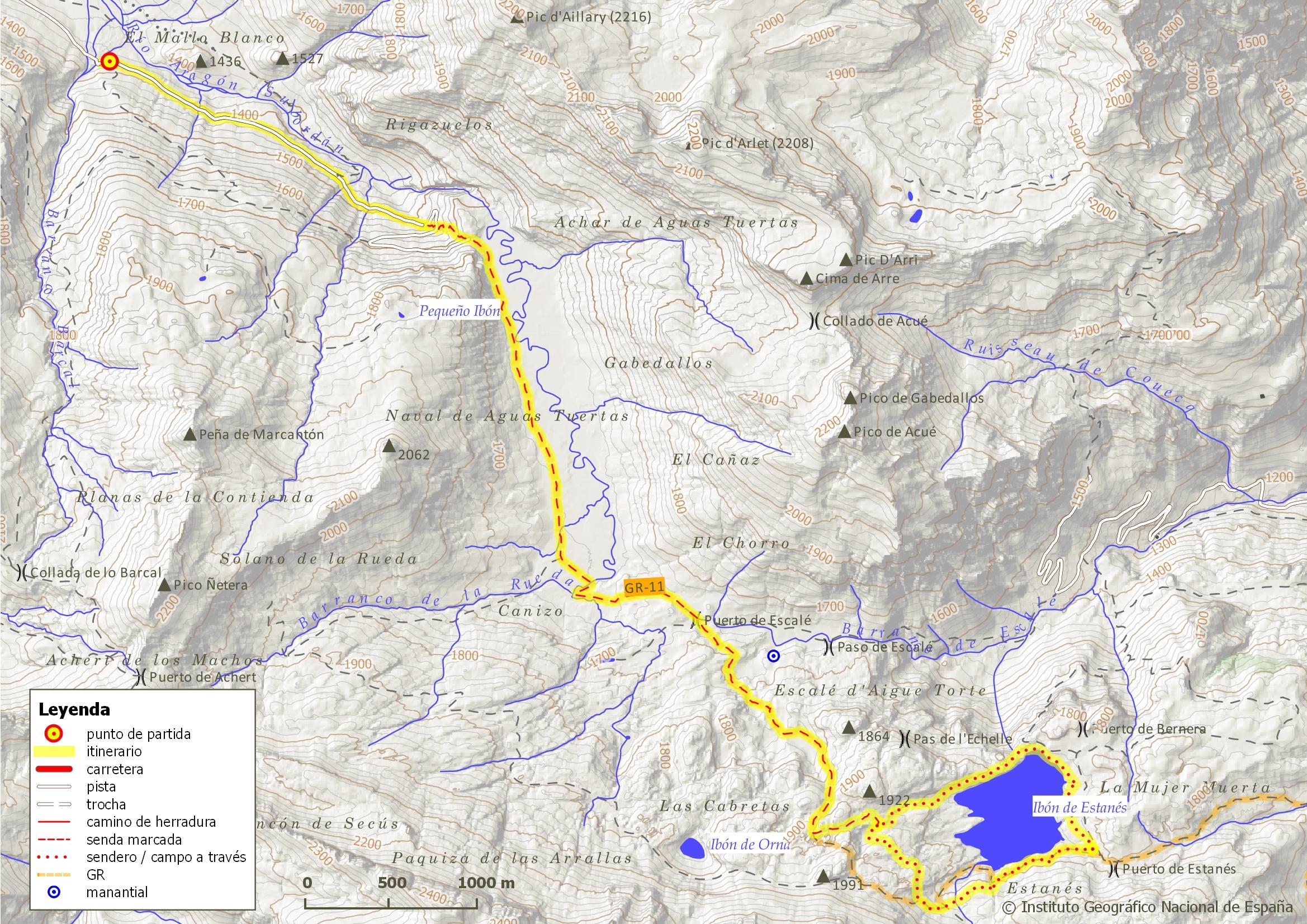 Ibón De Estanés Rutas Por El Valle De Hecho