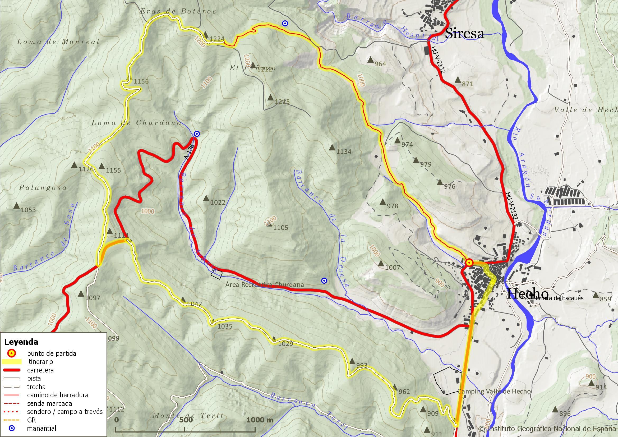 Cuenca Del Arbesa Rutas Por El Valle De Hecho